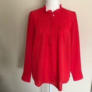 NWT J Crew Long Sleeve Blouse